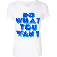 P.A.R.O.S.H. Camiseta 'Do What You Want' - Branco