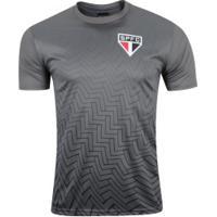 Camiseta Do São Paulo Bryan - Masculina - Cinza Escuro