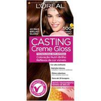 Coloração Casting Creme Gloss L'Oréal Paris 500 Castanho Claro - Unissex-Incolor