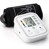 Medidor Monitor Automático De Pressão Arterial - Unissex-Branco