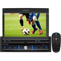 "Dvd Player Automotivo Pósitron Sp6700 Dtv Com Tela Touch Screen De 7"", Tv Digital, Usb, Leitor Sd, Entrada Auxiliar E Controle Remoto"
