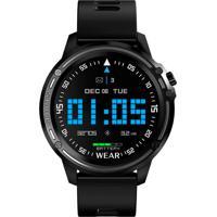Smartwatch Tomate Monitor Cardíaco Pedômetro Resistente À Água Ip68 - Preto