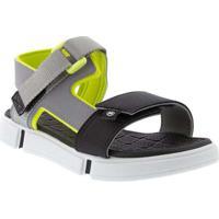 Sandália Papete Molekinho Color 2411102 Cinza