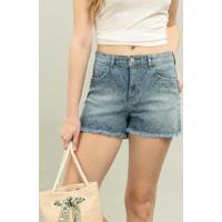 Shorts Miami Estampa Jeans - Lez A Lez