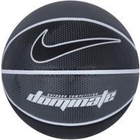 Bola De Basquete Nike Dominate 8P Bb0635 - Preto/Branco