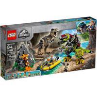 Lego Jurassic World - T-Rex Vs Robô Dino - 75938