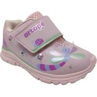 Tênis Infantil Ortopé Dna Light Baby Menina - Feminino-Rosa
