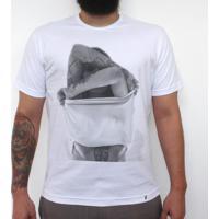 Pra Quem Tá Quente - Camiseta Clássica Masculina