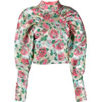 Rotate Blusa Floral - Rosa