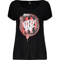 Camiseta Atlético Paranaense Ink Feminina - Feminino