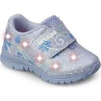 Tênis Ortopé Baby Dna Light Led Infantil Frozen O2159926* Feminino - Feminino