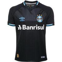 Camisa Umbro Plus Size Grêmio Oficial 3 Torcedor Nº10 2018/19 Masculina - Masculino