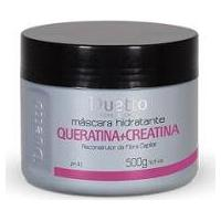 Máscara De Hidrataçao Queratina + Creatina Duetto 500G - Feminino-Incolor
