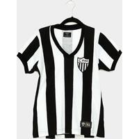 Camiseta Atlético Mineiro Retrô 1950 Feminina - Feminino