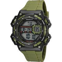 Kit De Relógio Digital Speedo Masculino + Fone De Ouvido - 81198G0Evnp2K Verde
