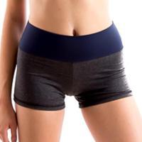 Shorts Lana Íon Fitness Com Cós - Feminino