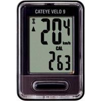 Ciclo Computador Cateye Cc Vl820 Velo 9 - Unissex
