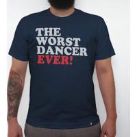 Worst Dancer Ever - Camiseta Clássica Masculina