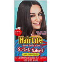 Creme Alisante Hair Life Solto E Natural Kit