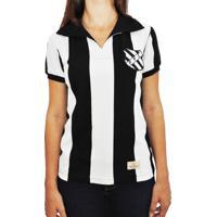 Camisa Retrô Mania Feminina Figueirense 1960 - Feminino