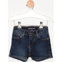 Short Jeans Estonado- Azul Escurocalvin Klein