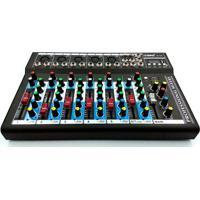 Mesa De Som Bluetooth 6 Canais Mixer Mp3 Player Digital Usb Lelong Bivolt