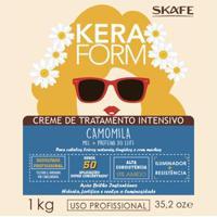 Creme De Tratamento Keraform Camomila Intensivo Skafe 1Kg - Unissex