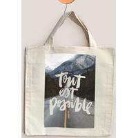 Ecobag Tout Est Possible