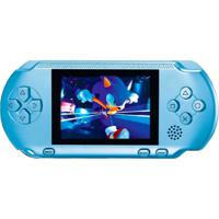 Video Game Portátil Pocket + Cartucho - Azul Claro