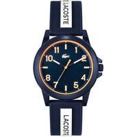 Relógio Lacoste Infantil Borracha Azul E Branca 2020142