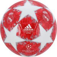 Bola De Futebol De Campo Real Madrid Champions League Finale 18 Adidas -  Vermelho Branco 7cf7ff00bec2e