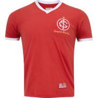 Camisa Do Internacional 1975 Retrômania - Masculina - Vermelho