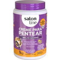 Creme Para Pentear Salon Line - Brilho Máximo - 1Kg - Unissex-Incolor