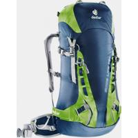 Mochila Cargueira Deuter Guide Lite 32+ Azul E Verde