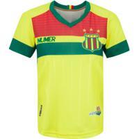 Camisa Do Sampaio Corrêa Ii 2020 Super Bolla - Feminina - Amarelo