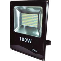 Refletor De Led 100W 6500K Branco Bronzearte