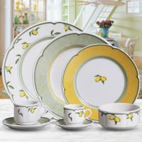 Aparelho De Jantar De Porcelana Lausana 18 Peças - Unissex