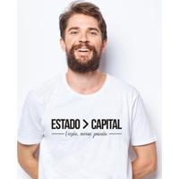 Camiseta Zé Carretilha - Cea - Vozao - Estado Masculina - Masculino