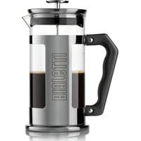 Cafeteira French Press Preziosa Negrito 1 Litro Bialetti