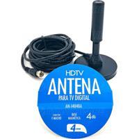 Antena Para Tv Digital 4Dbi Interna Externa Prova D'Água