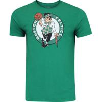 Camiseta Nba Boston Celtics Big Logo - Masculina - Verde