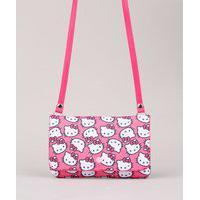 Bolsa Infantil Transversal Hello Kitty Rosa