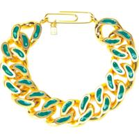 Aurelie Bidermann Bracelete 'Waikiki' Com Banho Em Ouro 18K - Verde