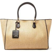 Shopping Bag Ráfia Black   Schutz