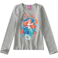 Blusa Cinza Princesas Disney®