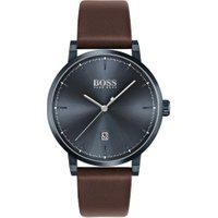 Relógio Hugo Boss Masculino Couro Marrom - 1513791