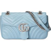 Gucci Gg Marmont Shoulder Bag - Azul
