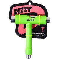 Chave Dizzy T Multifuncional Para Skate Verde Limão