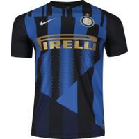 Camisa Inter De Milão Especial Nike - Masculina - Preto/Azul