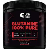 Glutamina 100% Pure Espartanos - 100 Gr - Unissex
